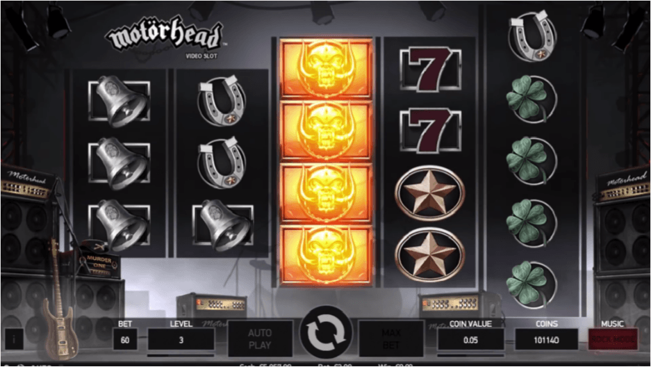 Hot upcoming release from Netent: Motörhead Video Slot
