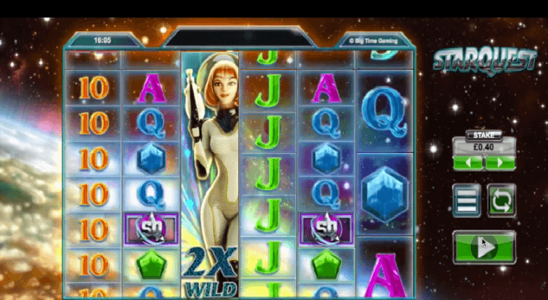 New Slot: Starquest (Big Time Gaming)