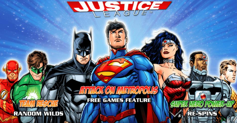 New Slot: Justice League (NextGen Gaming)