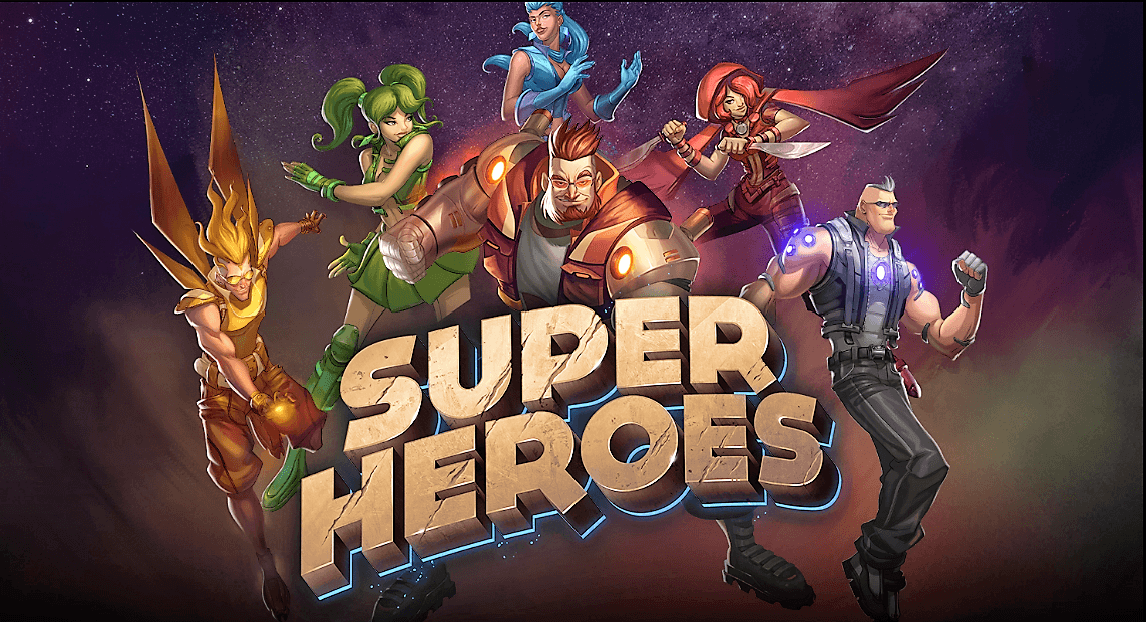New Slot: Super Heroes (Yggdrasil)