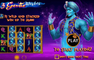 New Slot: 3 Genie Wishes (Pragmatic Play)