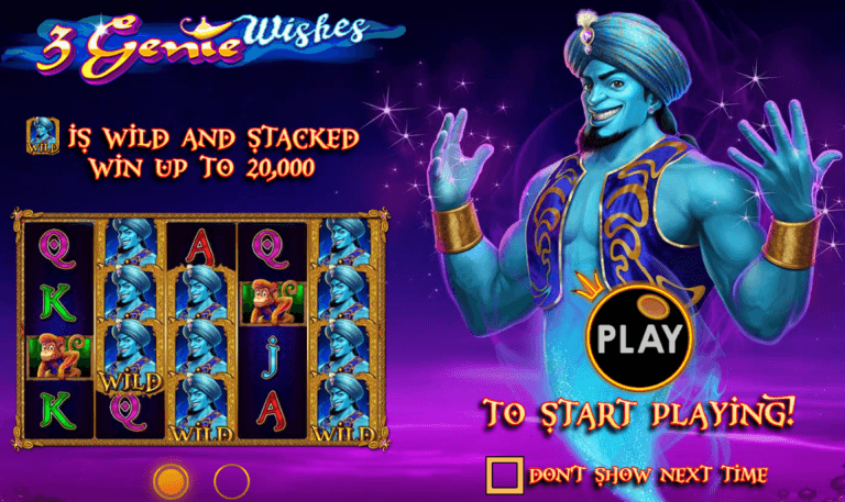 New Slot: 3 Genie Wishes (Pragmatic Play)