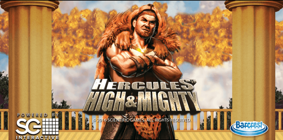 New Slot: Hercules High & Mighty (Barcrest)