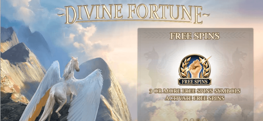 New Slot: Divine Fortune (NetEnt)