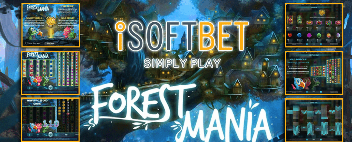 New Slot: Forest Mania (iSoftBet)