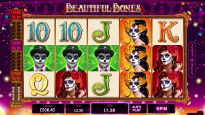 Beautiful Bones online slot