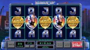 RoboCop symbols