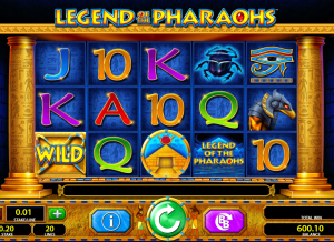Legend of the Pharaohs casino slot