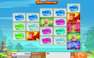 Wins of Fortune slot symbols