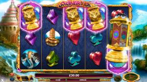Shangri La slot symbols