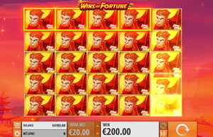 Wins of Fortune super spins