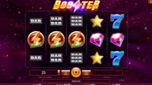 Booster casino slot symbols bars
