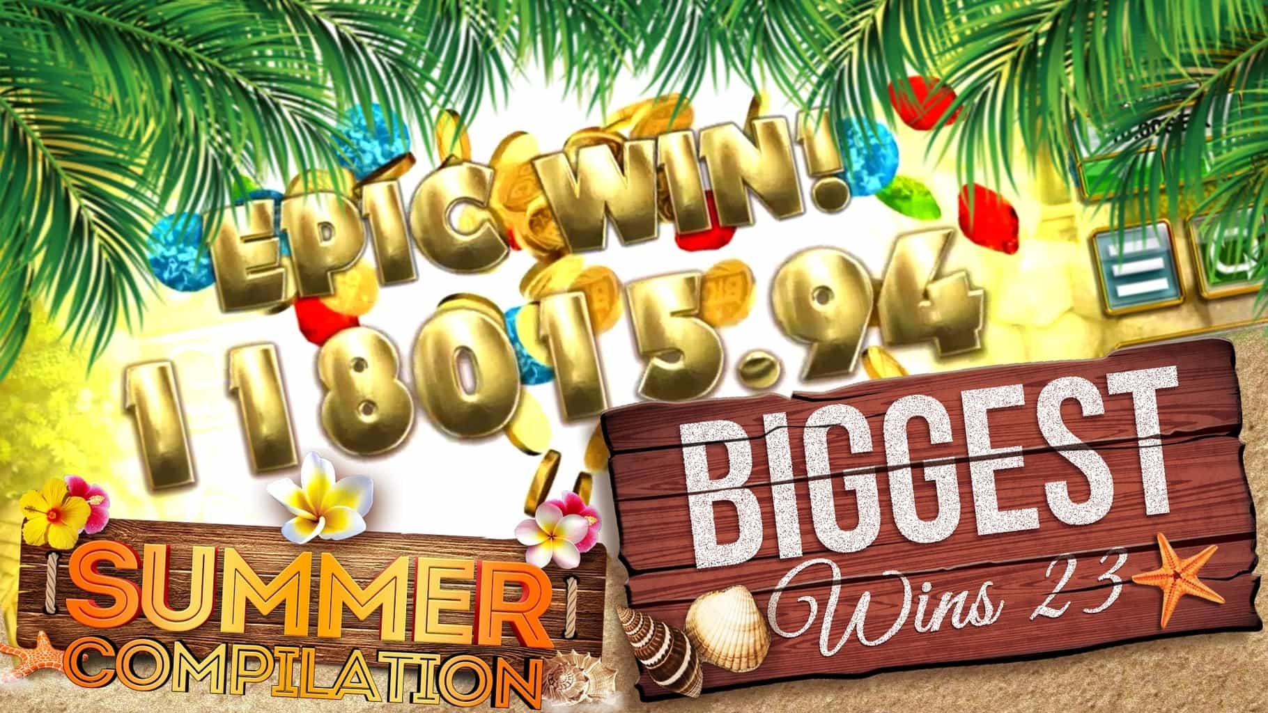 BIGGEST SLOT WINS Summer Compilation