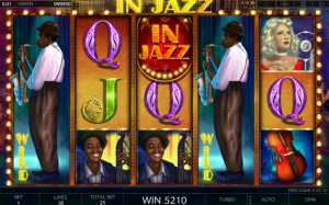 In Jazz online slot game