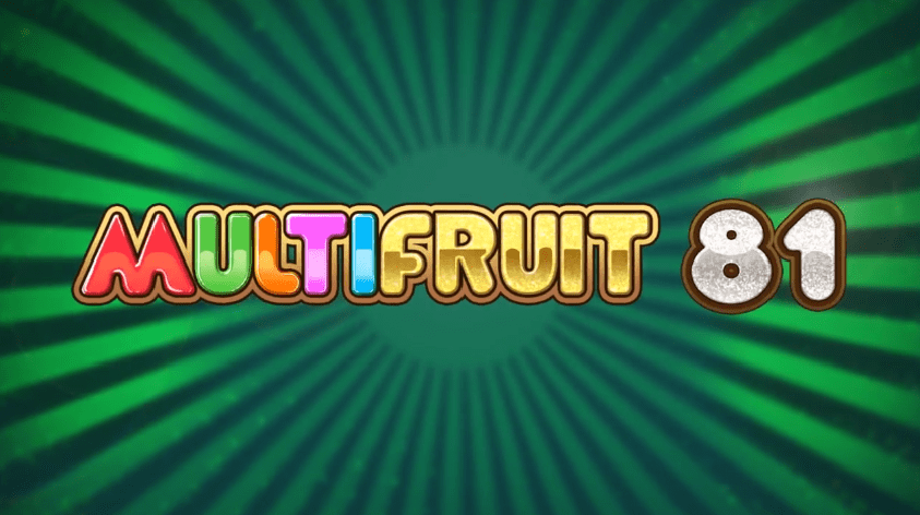 New Slot: Review MultiFruit 81 (Play'n GO)