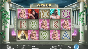 Olympus video slot big win