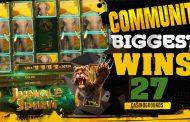 COMMUNITY BIGGEST SLOT WINS #27