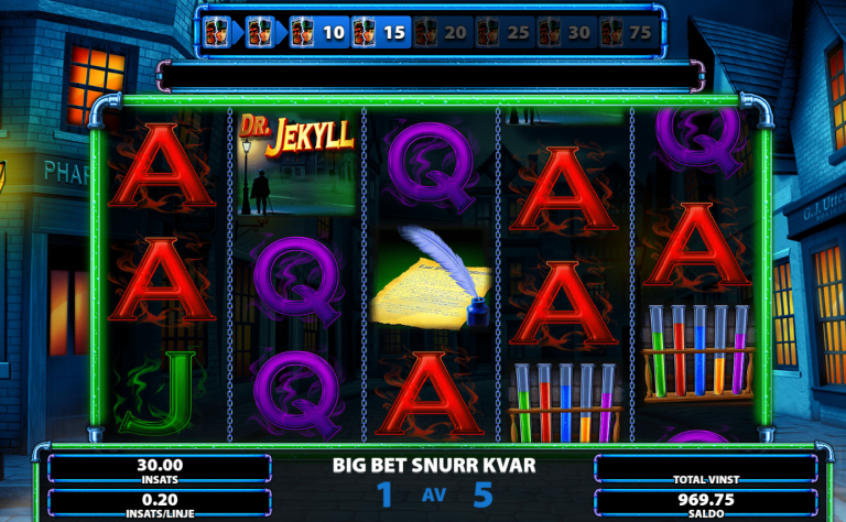 Dr Jekyll Goes Wild - Free Spins feature
