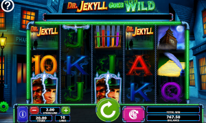 Dr Jekyll Goes Wild video slot play