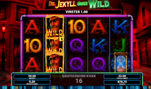 Dr Jekyll Goes Wild Slot - Hyde Spins Feature Bonus