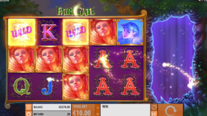 Fairy Gate slot re-spin feature wilds orbs extra reels