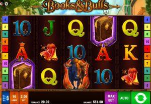 Books & Bulls video slot online