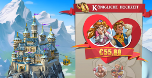 Castle Builder II Slot royal wedding feature