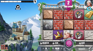 Castle Builder II slot free spins bonus