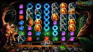 Giovanni's Gems cluster pay cascading reels