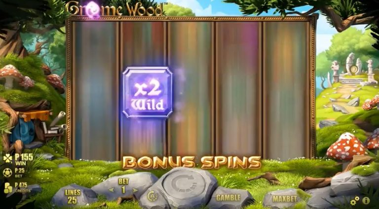 Gnome Wood free spins