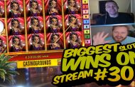BIGGEST CASINO WINS ON STREAM – WEEK 30 / 2017