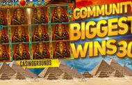 COMMUNITY BIGGEST SLOT WINS #30