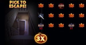 Halloween slot Boogeyman picking game