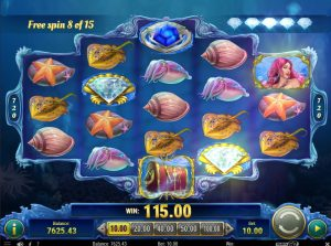 Mermaid's Diamond Slot big win