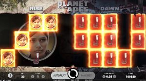 Planet of the Apes Slot random feature