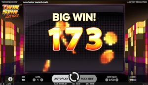 Twin Spin Deluxe Slot big win