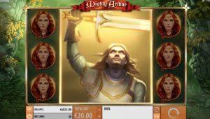 Mighty Arthur slot Arthur wild feature