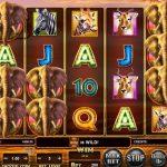 Stampede online slot free spins bonus
