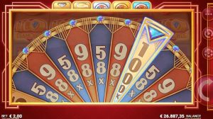 Deco Diamonds bonus wheel multipliers