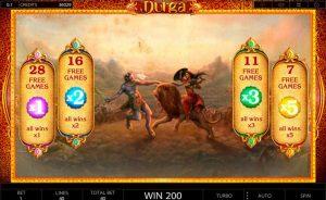 Durga slot bonus free spins