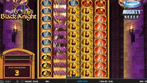 Mighty Black Knight big bet slot