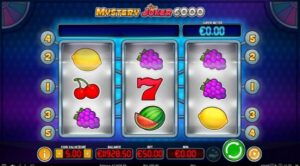 Mystery Joker 6000 fruit machine