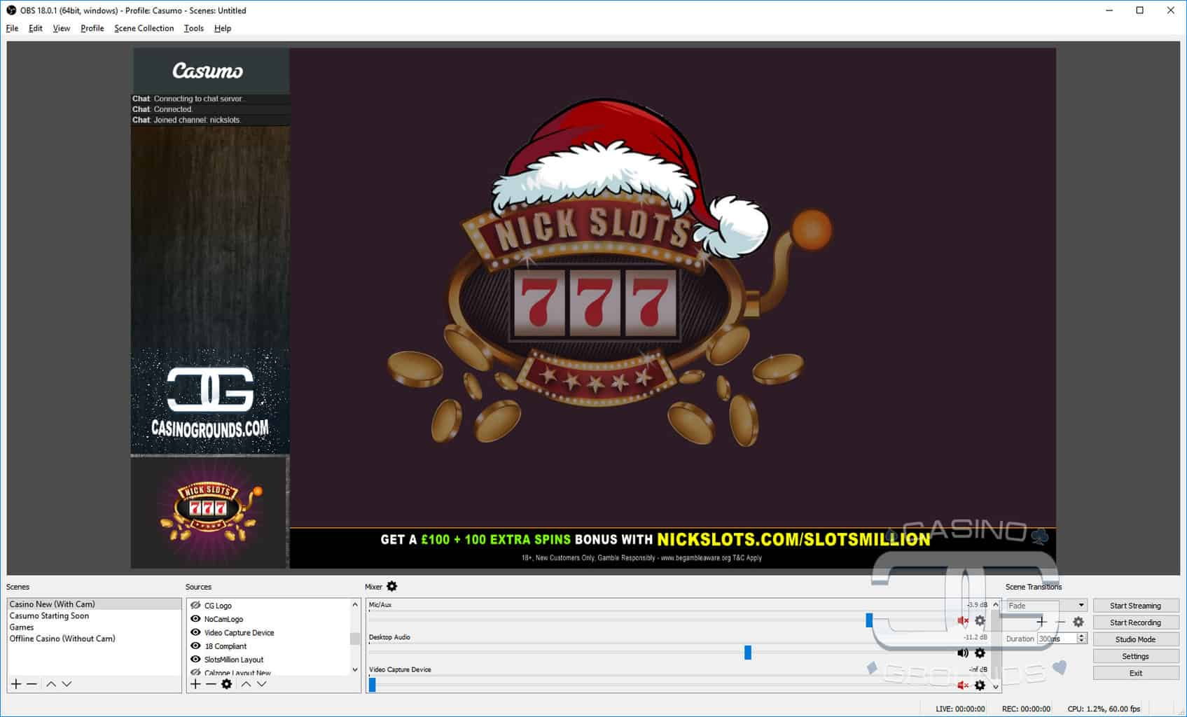 how to add webcam to obs 2017