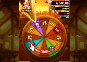 Heidi's Beir Haus video slot bonus wheel