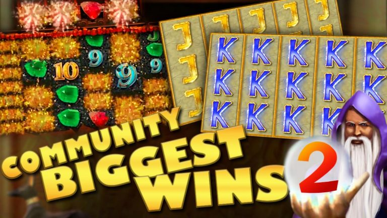 Community biggest slot wins Part 2 of 2018