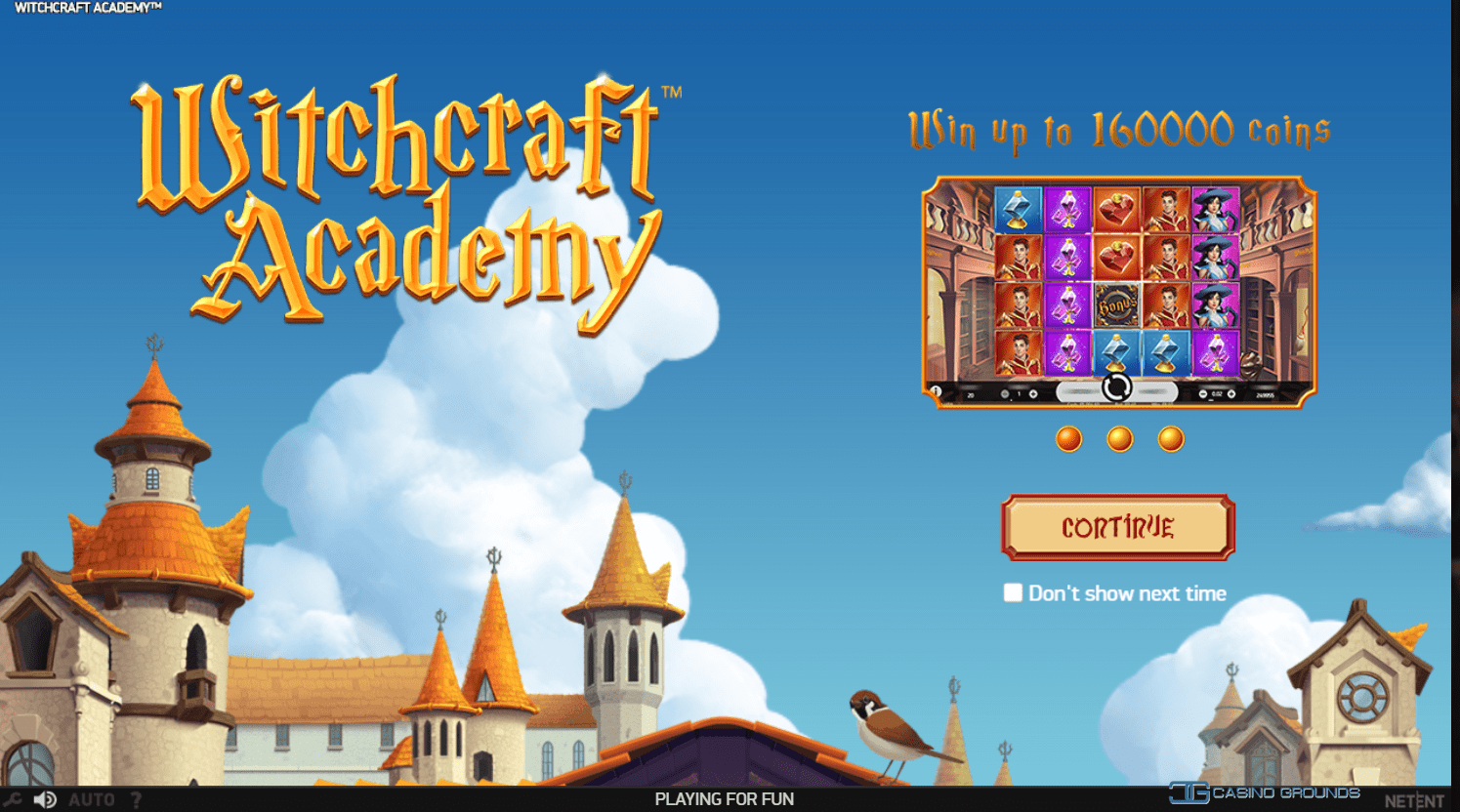 Slot Review – Witchcraft Academy