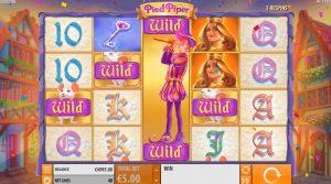 Pied Piper casino slot feature