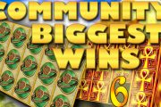 Community biggest slot wins Part 6 of 2018