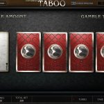 Endorphina -Taboo - Intro-screen casinogroundsdotcom