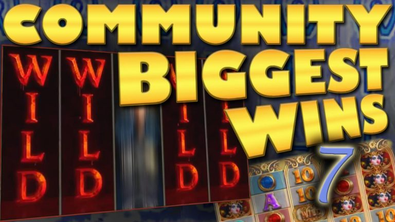 Community biggest slot wins Part 7 of 2018